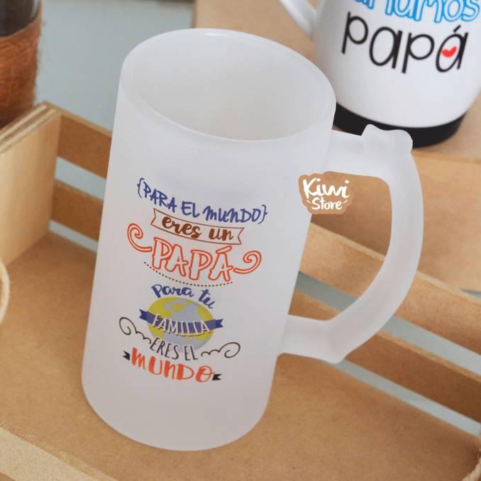 "Mug ""Papá, eres nuestro mundo"""