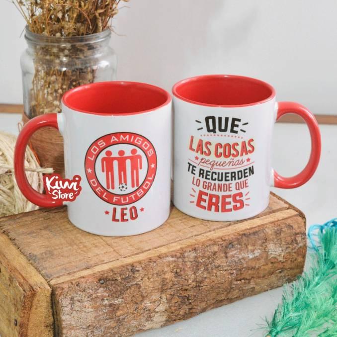 """Mug """"Los amigos del futbol"""""""