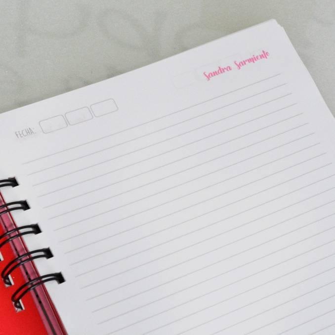 """Cuaderno """"Notas de la abogada"""""""